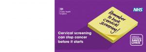 Cervical Screening Banner